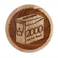 Geo Score Woody - 2000 Finds