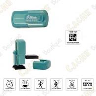 Tampon de poche personnalisable - 12mm