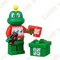 Personnage LEGO™ trackable - Signal the Frog® Festive Sweater