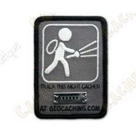 """Trackable Patch  """"Night Cache"""""""