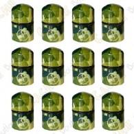 """Nano Cache aimantée """"Geo"""" x 12 - Camouflage Vert"""