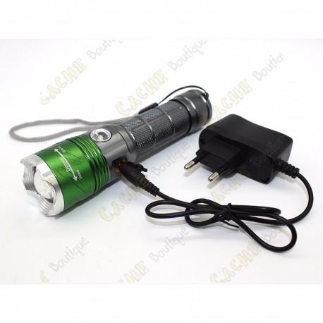 Lampe cree 2000 lumen + UV - Rechargeable
