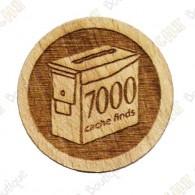 Geo Score Woody - 7000 Finds