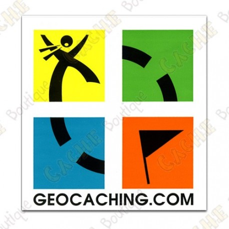 Mini stickers Groundspeak - Conjunto de 4