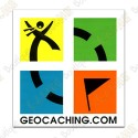 Grande sticker Groundspeak