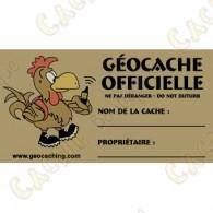 Sticker pour caches 100% francophone