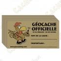 Stickers para caches 100% francófono x 10
