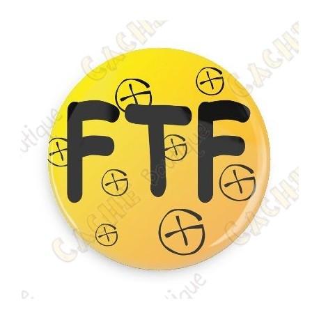 Badge FTF - Jaune