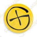 Crachá Geocaching - Amarelo