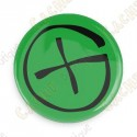 Crachá Geocaching - Verde