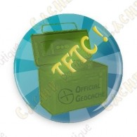 TFTC button - Blue