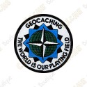 Patch geocaching - The World is our Playing Field