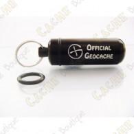 """Micro cache """"Official Geocache"""" - Preta"""