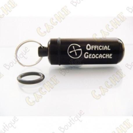 """Micro cache """"Official Geocache"""" - Black"""