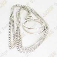 Chain for trackable marble