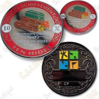 Geo Achievement® 10 Hides - Coin + Pin