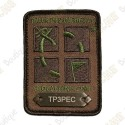 Patch Geocaching trackable - Camouflage