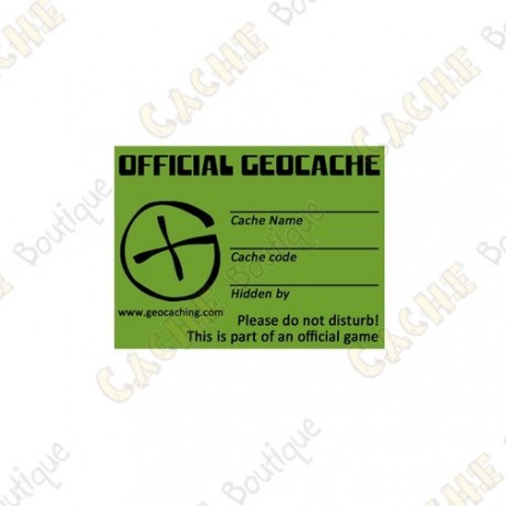 "Sticker Geo ""X-Small"""