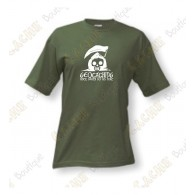 "T-Shirt ""Until Death Do Us Part"" for men - Khaki"