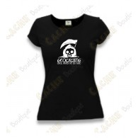 "T-Shirt ""Until Death Do Us Part"" Mulheres - Negro"