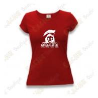 """T-Shirt """"Until Death Do Us Part"""" Femme - Rouge"""