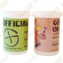 Film canister cache - White