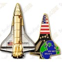 "Geocoin ""Space shuttle"""