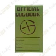 """Petit logbook """"Official Logbook"""""""