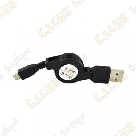 Retractable USB - Mini USB