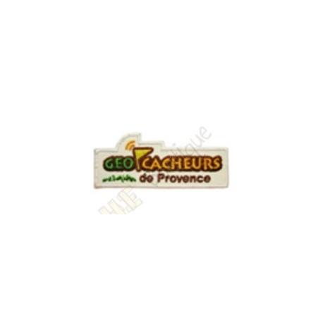 """Geocaching patch """"Géocacheurs de Provence"""""""