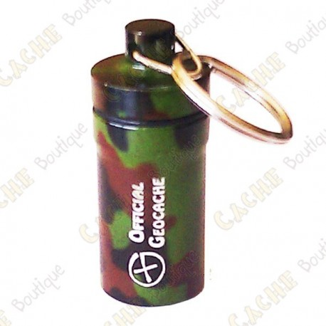 "Micro cache ""Official Geocache"" 5,2 cm - Camuflage"