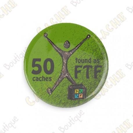 Geo Achievement Button - 25 FTF