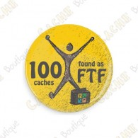 Geo Score Badge - 100 FTF