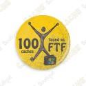 Geo Score Badge - 100 FTF