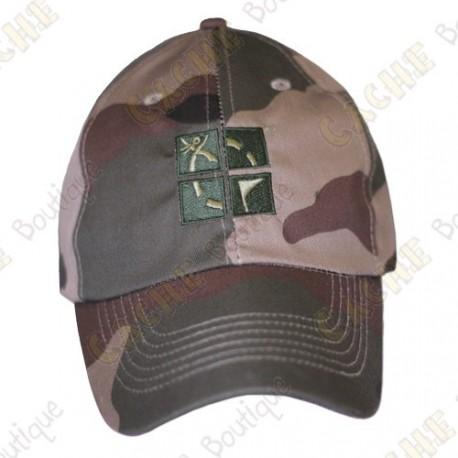 Groundspeak cap with logo - Green camo