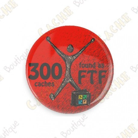 Geo Achievement Badge - 300 FTF