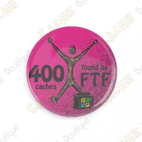 Geo Achievement Badge - 400 FTF