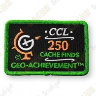 Geo Achievement® 250 Finds - Parche