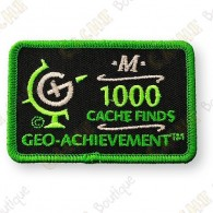 Geo Achievement® 1000 Finds - Patch