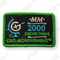 Geo Achievement® 2000 Finds - Parche