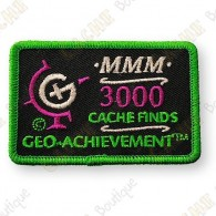 Geo Achievement® 3000 Finds - Patch