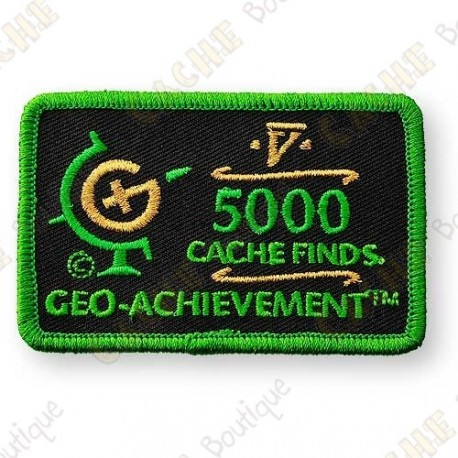 Geo Achievement® 5000 Finds - Patch