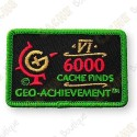 Geo Achievement® 6000 Finds - Parche