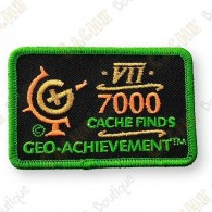 Geo Achievement® 7000 Finds - Patch