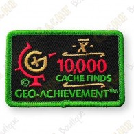 Geo Achievement® 10 000 Finds - Patch