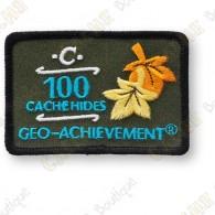 Geo Achievement® 100 Hides - Parche