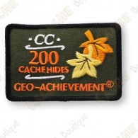 Geo Achievement® 200 Hides - Patch