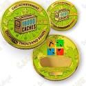 Geo Achievement® 18 000 Finds - Coin + Pin's