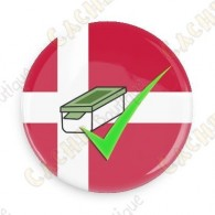Geo Score Badge - Danemark