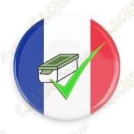 Geo Score Badge - France